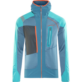 La Sportiva Foehn Jacket Herre lake/tropic blue